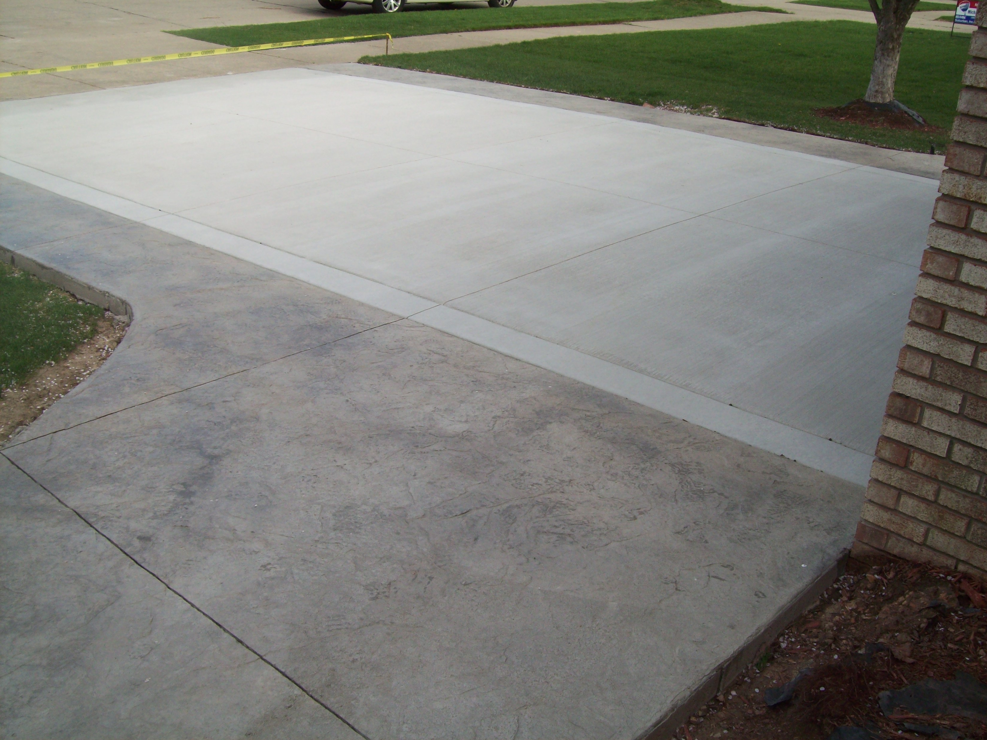 Concrete Driveway Photo Gallery