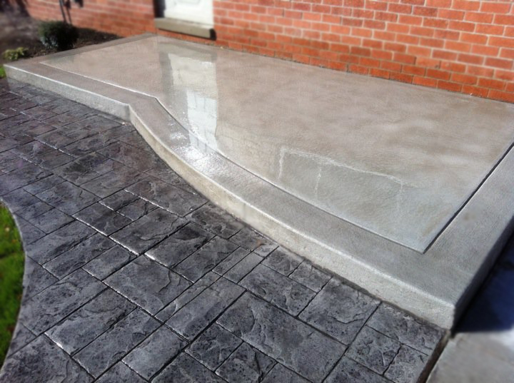 We Also Offer Contoured Concrete Patio Options For Special Projects Such As  Pool Walkway Decks And Confined Areas Getting The Most Of Your Yard Home Or  ...